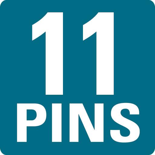 11 PINS