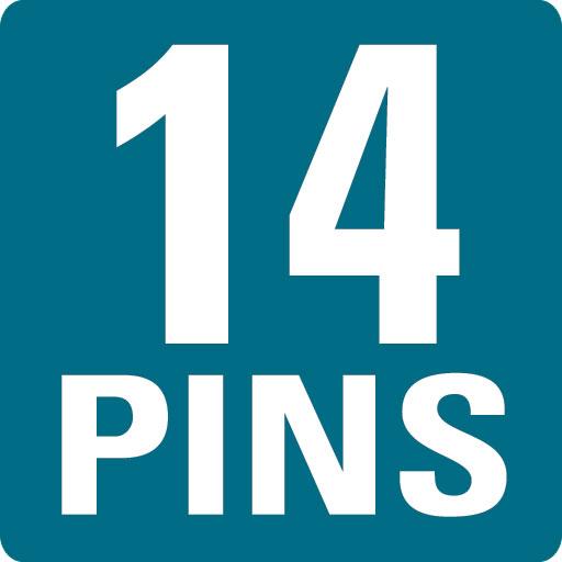 14 PINS