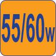 60/55W