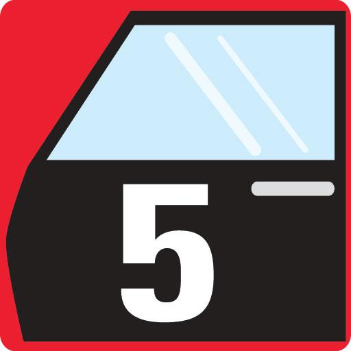 5 Türen