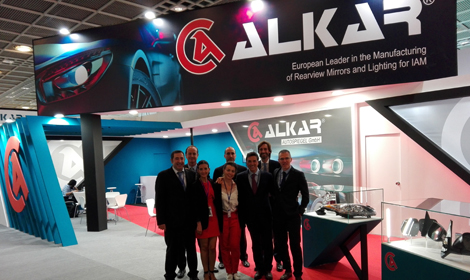 PLENTY OF VISITORS IN ALKAR BOOTH AT AUTOMECHANIKA