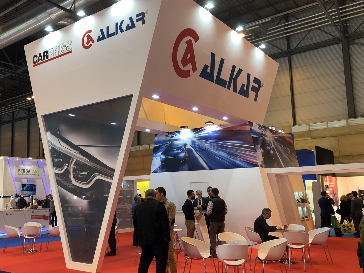 Plenty of customers in the first 2 days of ALKAR in MOTORTEC 2019
